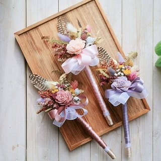 PJ small garden * | dry flower feather happiness pen |