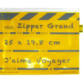 Director Clap Zipper Petit (3 pcs set) - Yellow