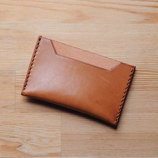 [DOZI leather hand made] single side business card holder