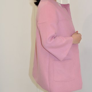 Flat 135 X Taiwan designer autumn must-have 90% wool wool long coat shawl