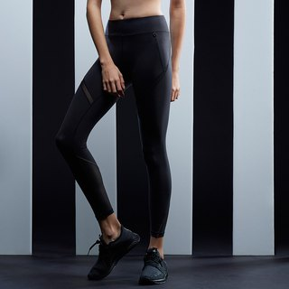 [MACACA] Hip Fixed Slim Night Nine Pants - AQE7101 Black