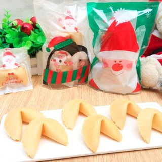 Christmas Gift Christmas Package Lucky Fortune Cookie Milk Flavor Fortune Cookie Handmade Biscuits