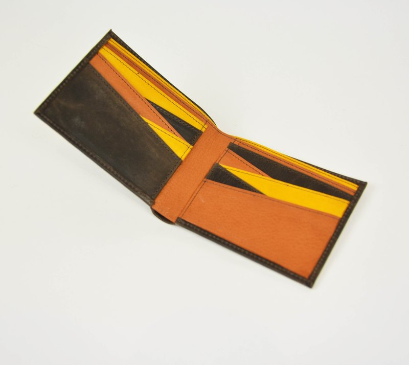 eco wallet-black brown-fair trade