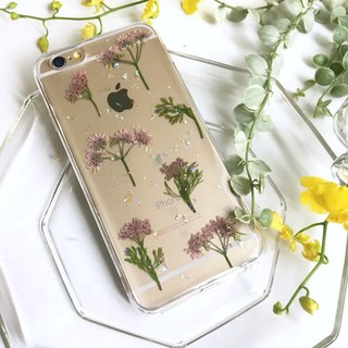 Shiny Coriander Sky:: Wenqing Dry Flower Protective Case