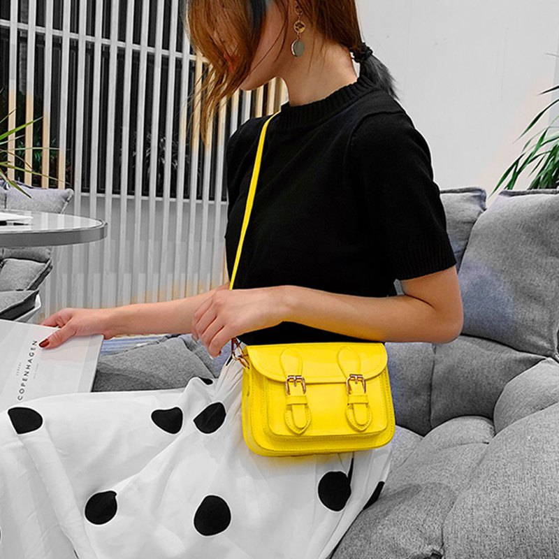 Can be engraved crossbody bag iphone mobile phone bag cross-body bag shoulder bag birthday guest gift yellow