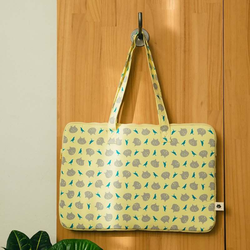 "15.5"" Laptop Case / NYA x inBlooom / Yellow Moon"