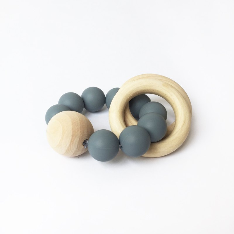 LUNA TEETHER - GREY