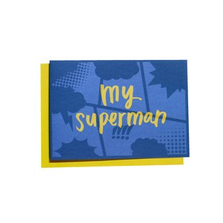 Superhero系列 暖心小卡 - My superman