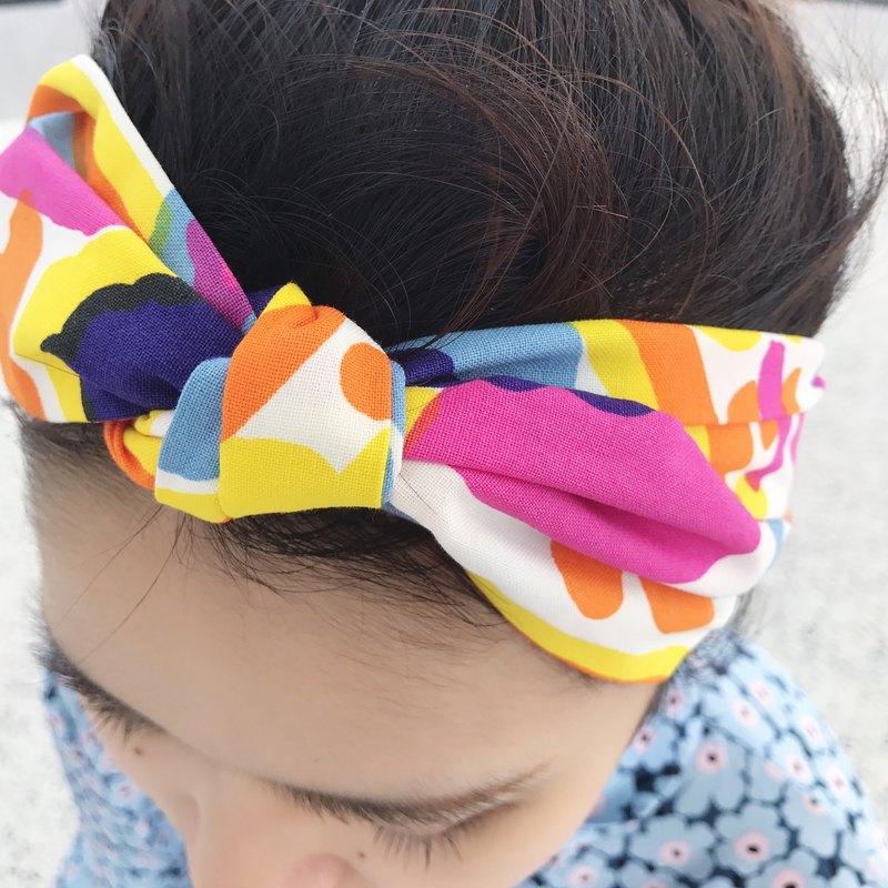 Secret candy jar strap elastic narrow version / handmade hair band
