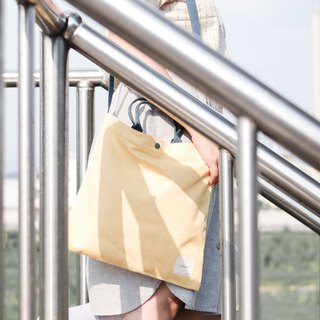 Square Tote - Yellow