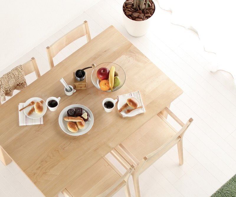 旭川家具 MUKU工房Origianl MUKU DINING TABLE 餐桌