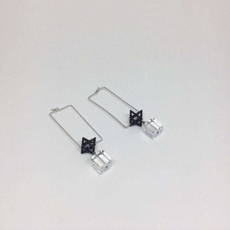 Fantastic geometry earrings