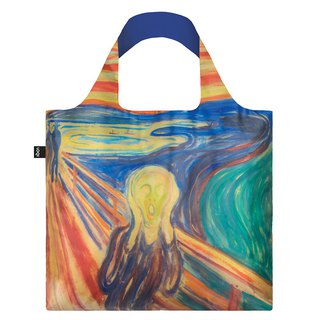 LOQI Shopping Bag - Museum Series (Scream & Color EMSCCO)