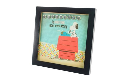 Snoopy Manga Decoration - Happiness Story (Hallmark-Peanuts Manuscript)