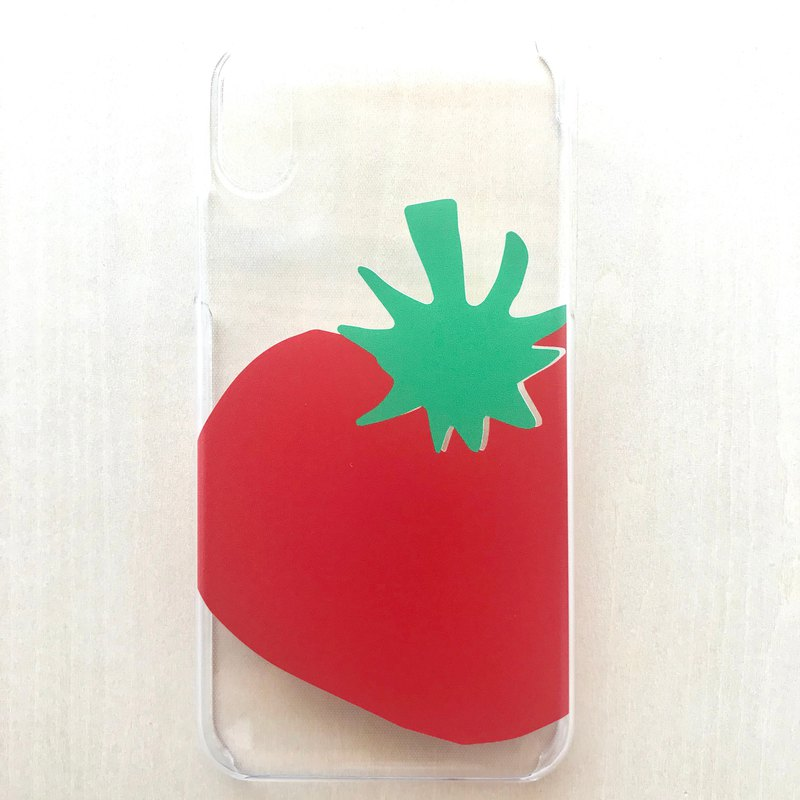 [Make-to-order production] iPhone case tomato