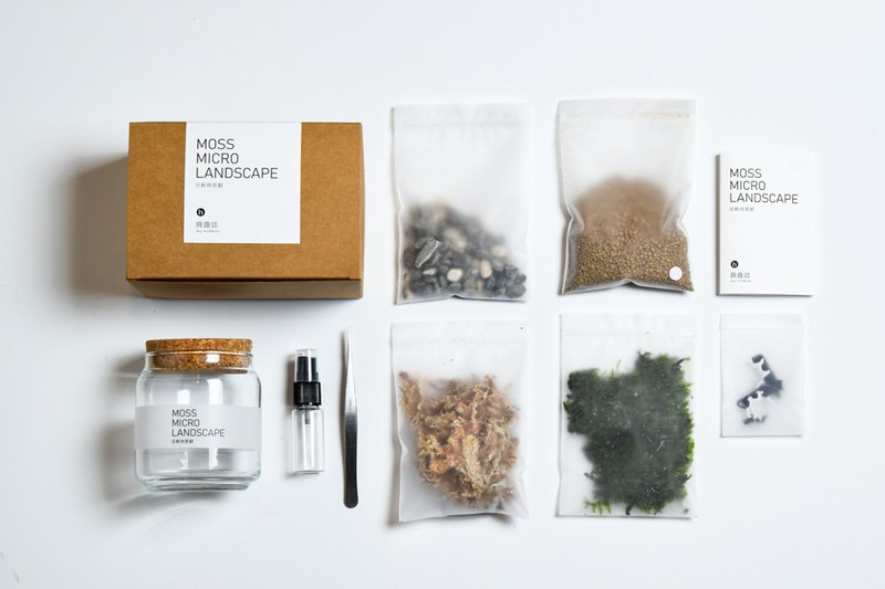 Moss Microlandscape Making Kit-Dairy Cows on the Prairie