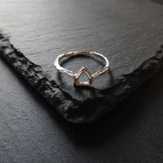 único Series - Triangle iii (925 Sterling Silver Ring)