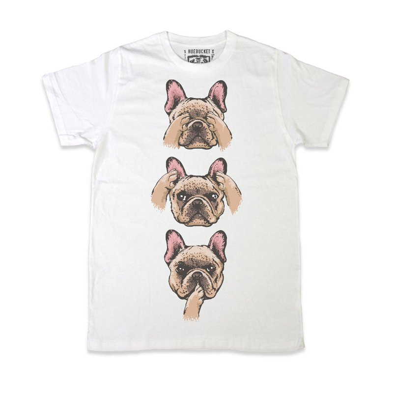 No Evil Frenchie • Unisex T-shirt