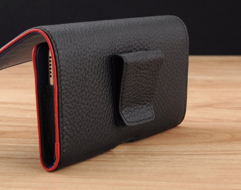 STORYLEATHER made (SAMSUNG series) Style W5 horizontal double border line customized leather holster