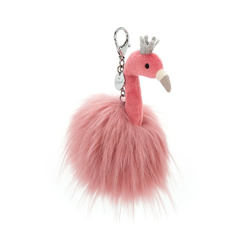 Jellycat Bag Charm - Fancy Flamingo