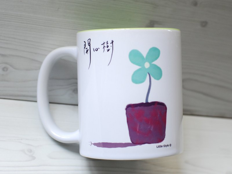 [Mug] Happy Tree (customized)