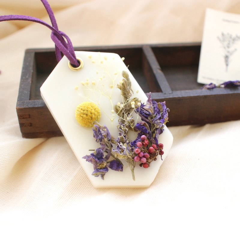 Lemon verbena scented brick