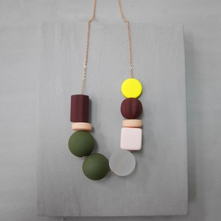 Marshmallow Necklace - PING PONG 009