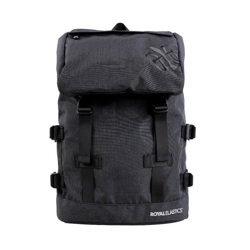 ROYAL ELASTICS - Festival Mountain Rock Series - Backpack - Black