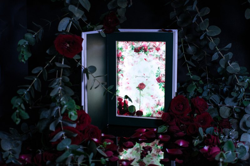 Custom Made Message【 You're My Rose | Book Lamp 】