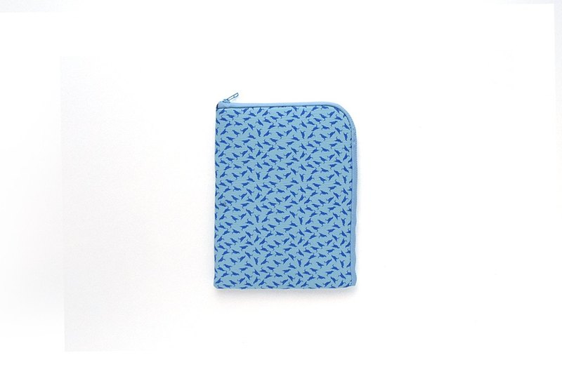 iPad Mini Sleeve / Crested Myna No.4 / Sea Blue