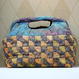 Thousands of colored puzzle handbag ❖ Exclusive hand sewing bag ❖