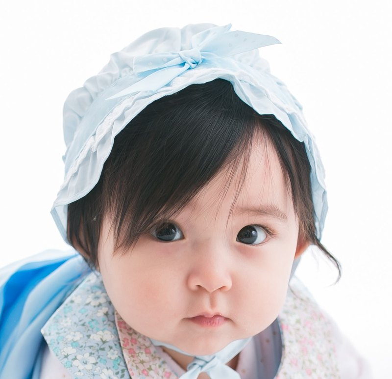 Cutie Bella bandaged baby hat for 0~12M Blue