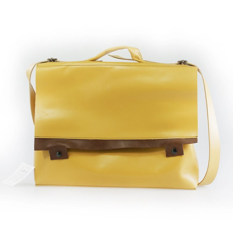 -OUTLTE- SAC VACHE-Yellow/Brown