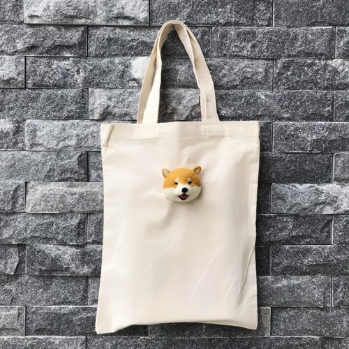 Smiling Xiao Chai __ blankets canvas sack _ Spring Festival increase canvas bag