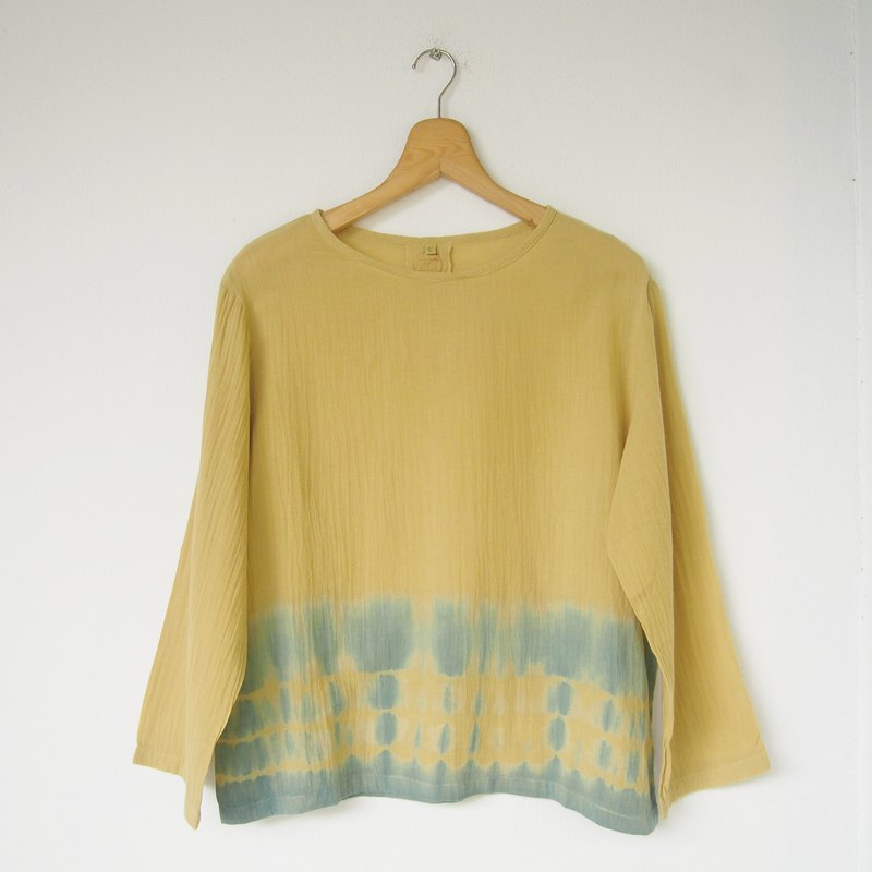 linnil: Yellow river long sleeve shirt