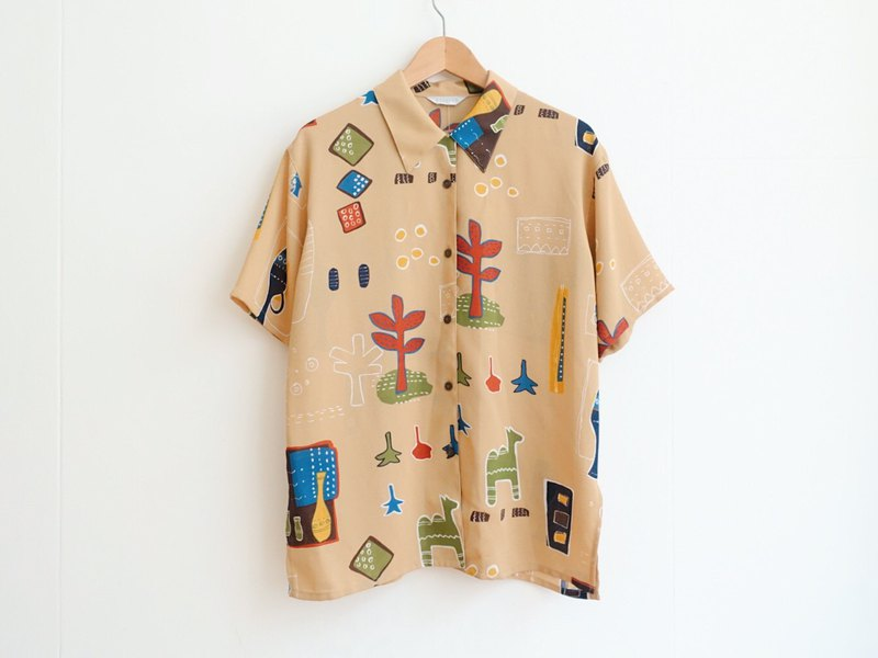 Vintage / Shirt / Short sleeve no.186 tk