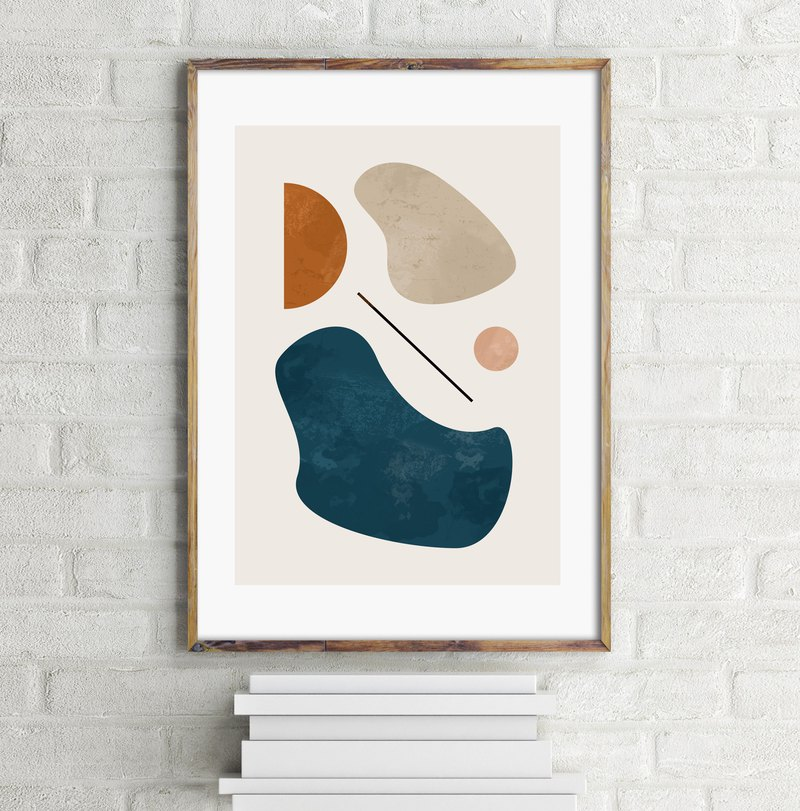 Abstract art print #2 Customizable painting poster