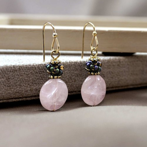 Spring Berry Earrings | Memorial Marking | Customized | Gifts |