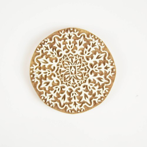 Woodcut stamp / coasters _ _ frost fair trade