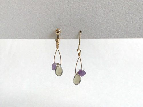 ℉(earrings(clip-on or pierced ))