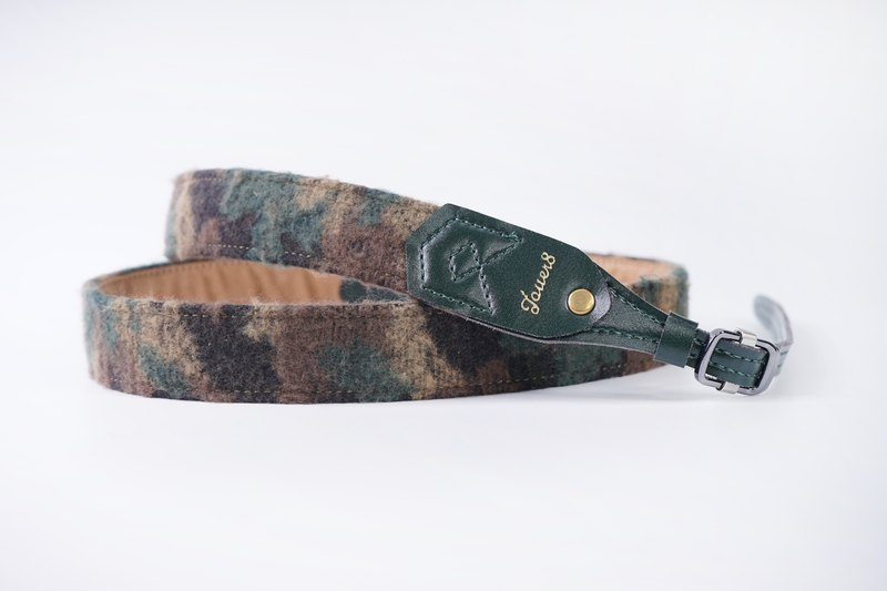 Shu pressure strap - green moss - hair camouflage - personality clear color low key