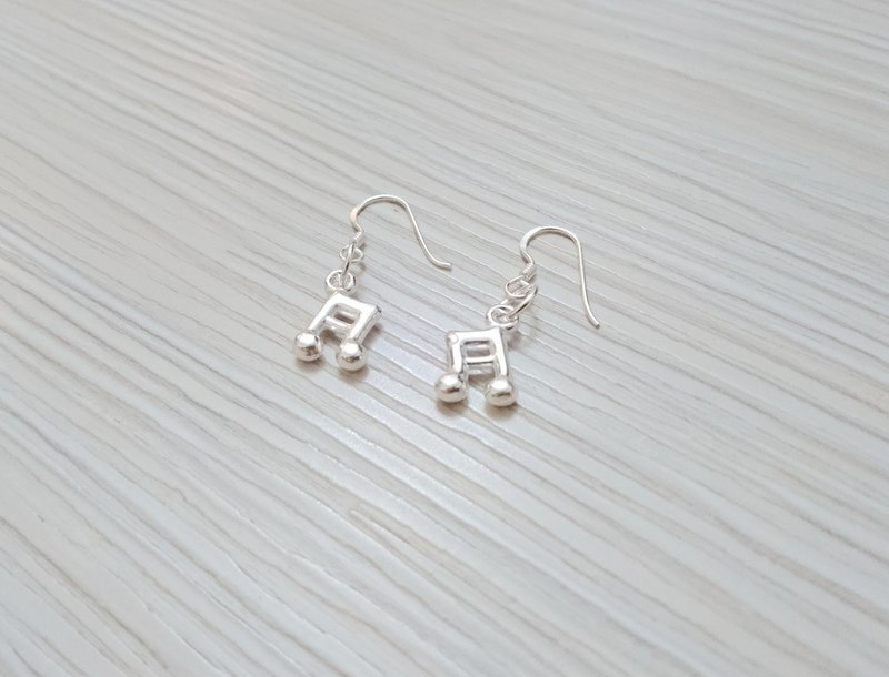 925 sterling silver earrings earring earring music notes