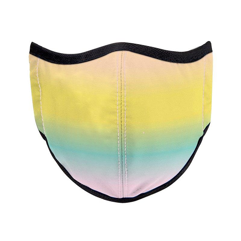 台灣製造MIT 高抗菌高透氣可水洗 天空系列_彩霞_防護布口罩