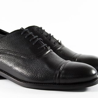 ITA BOTTEGA[Made in Italy]Deerskin Oxford Stripe Shoes