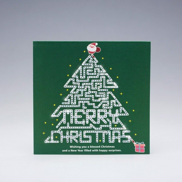 [] GFSD Rhinestone Collectibles - handmade cards - Christmas maze