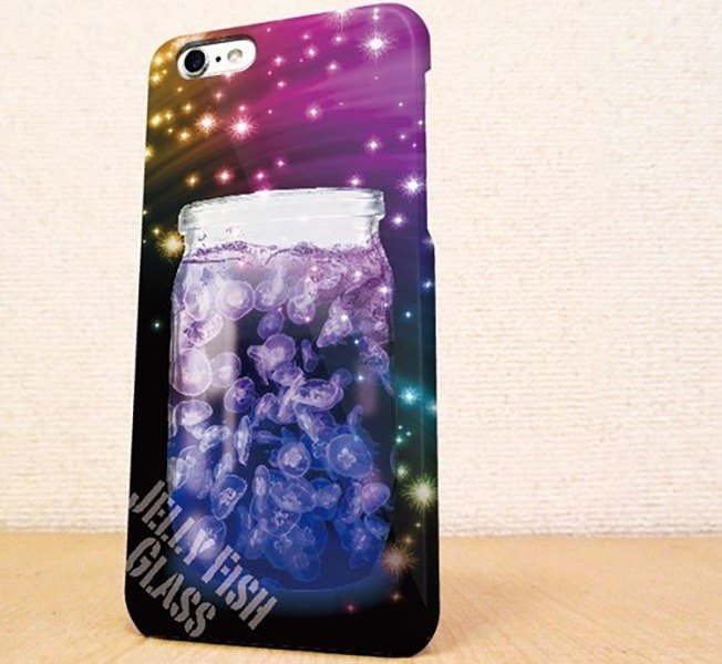 Jellyfish in the free shipping ☆ bottle Sumahokesu