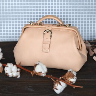 Retro Doctor Bag - 23 cm Basic Original Leather
