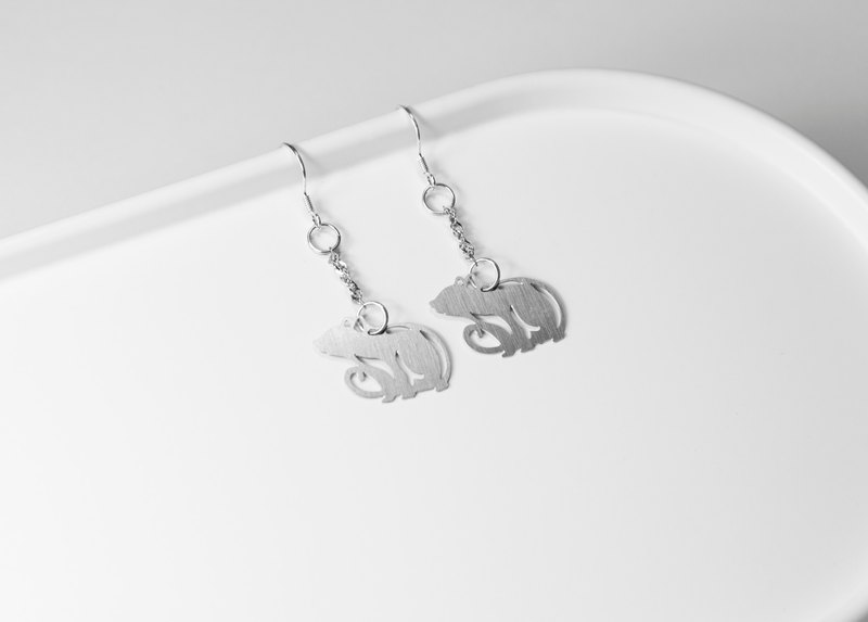 Zodiac ─ mouse earrings (style 2) [mini models] _ animal series _ questions