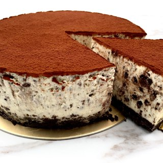 Oreo Chocolate Raw Cheesecake