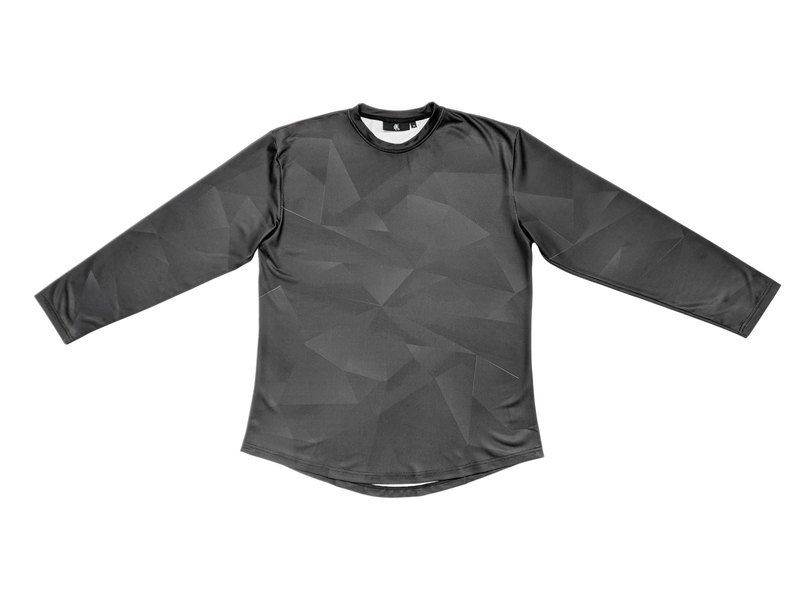 Black material function long sleeve